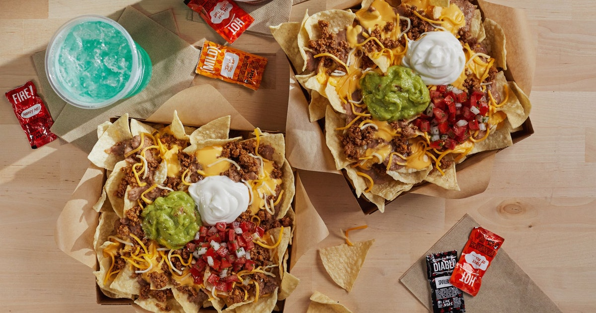 Taco Bell Introduced A Nachos Craving Pack For $10 That Looks Like Cheesy Heaven