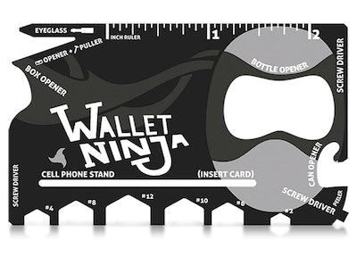 Wallet Ninja- 18 in 1 Credit Card Sized Multitool