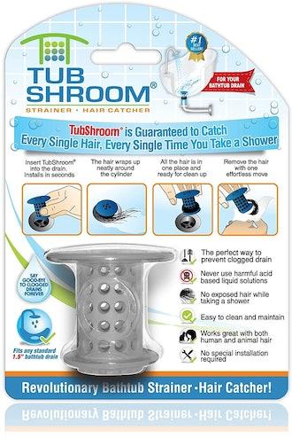 TubShroom the Revolutionary Tub Drain Protector