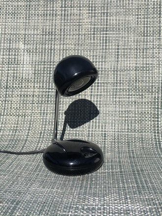 Chrome Black Desk Lamp