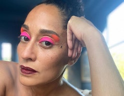 Tracee Ellis Ross has been a major celebrity eyeshadow muse throughout quarantine
