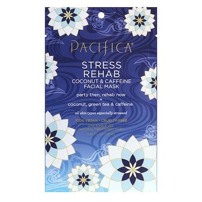 Pacifica Stress Rehab Coconut & Caffeine Facial Mask