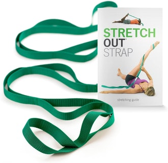 OPTP Stretch Out Strap with Exercise Book
