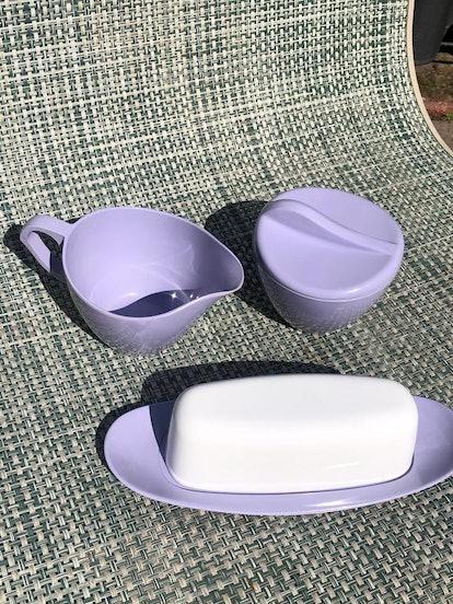 Lavender Breakfast Set