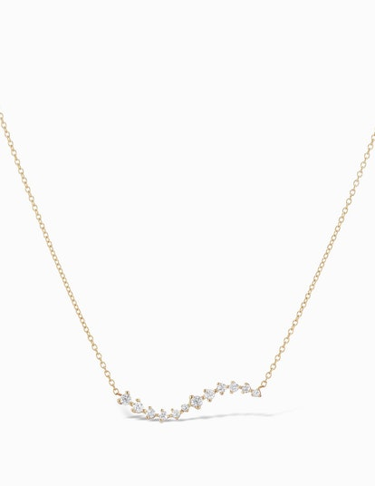Diamond Swell Necklace