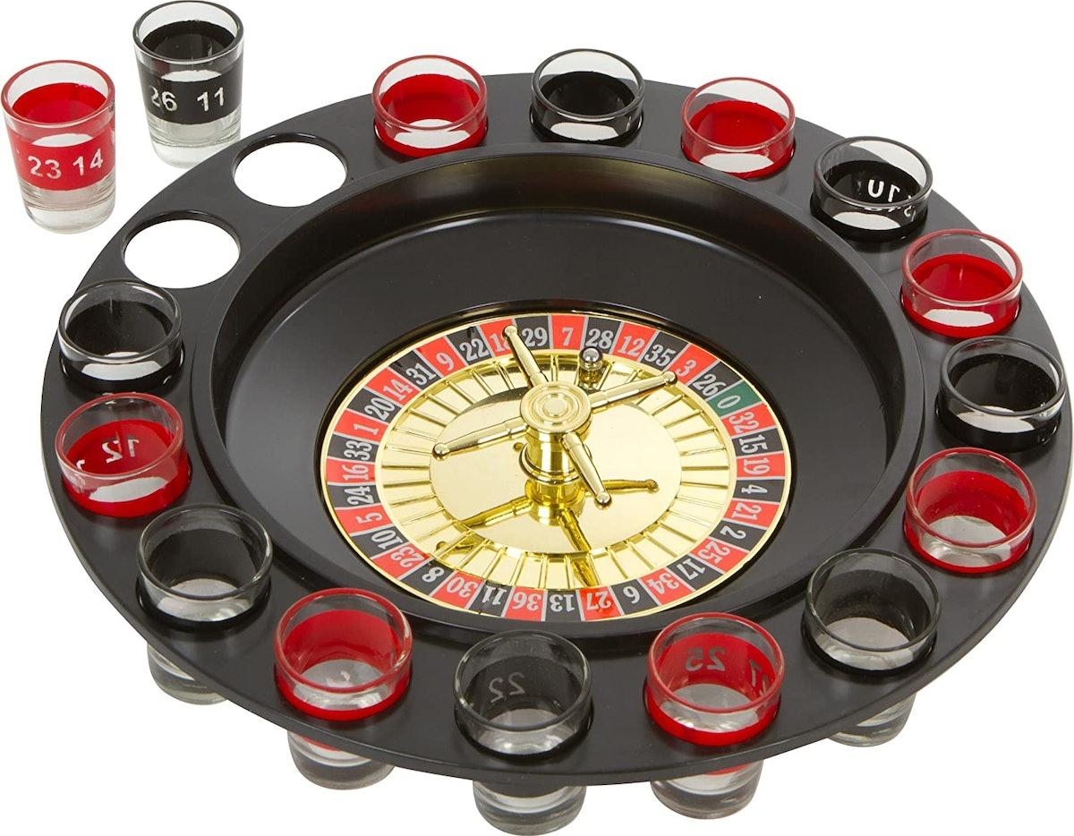 EZ DRINKER Shot Spinning Roulette Game Set