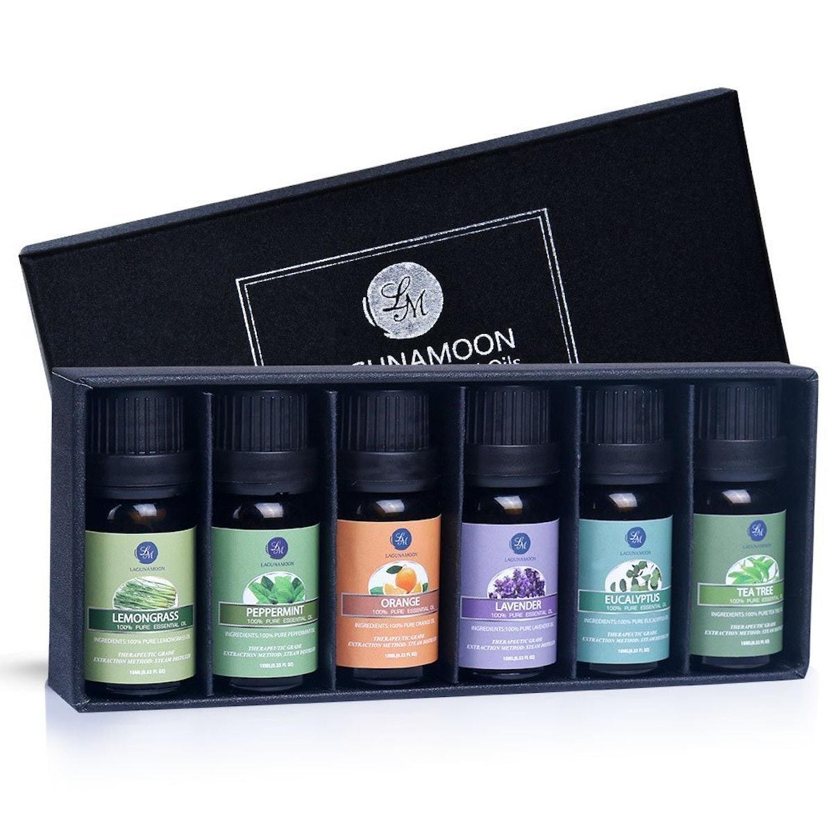 Lagunamoon Essential Oils (Set Of 6)