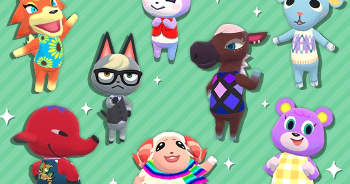 villager animal crossing new horizons characters list