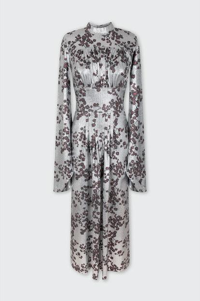 Long Lurex Sakura dress
