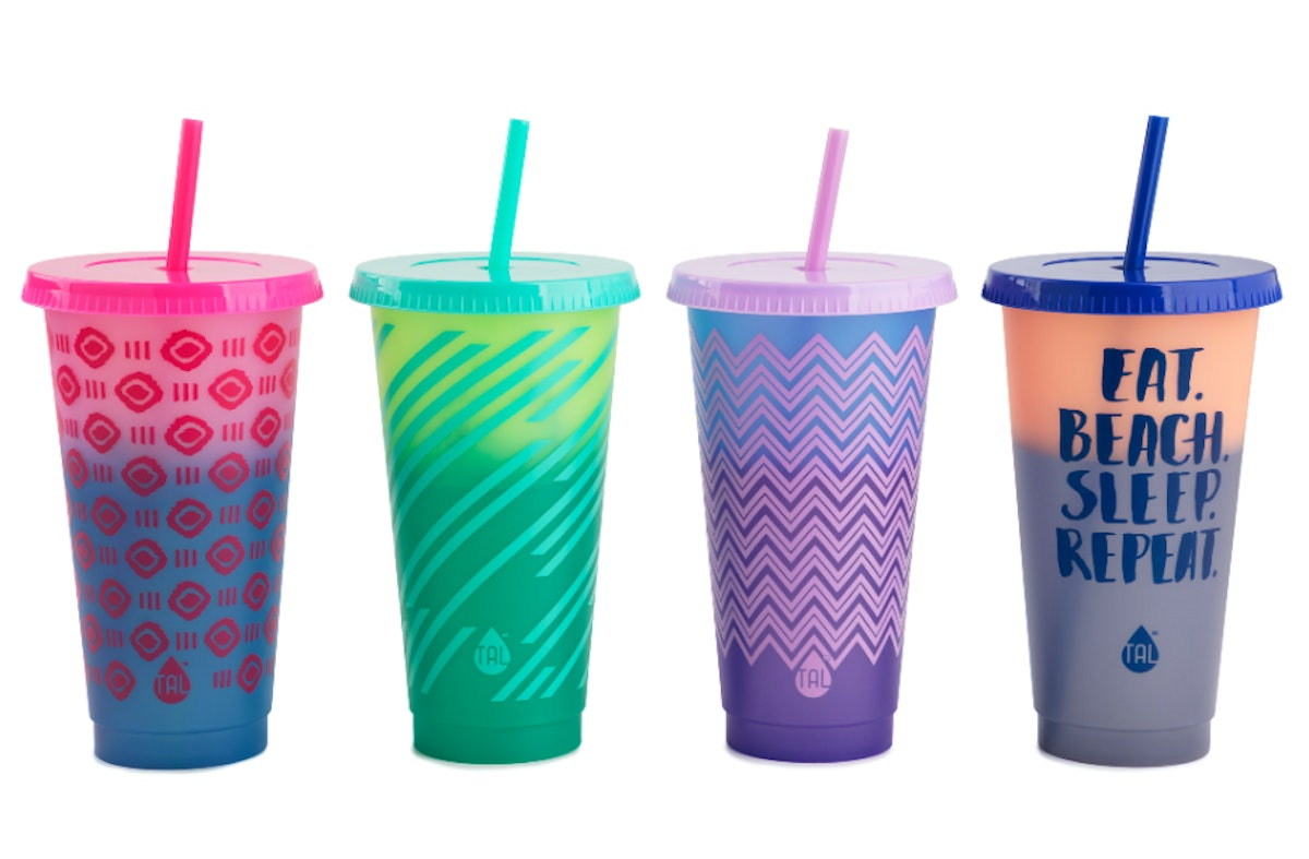 Walmart's color-changing reusable cold cups are less than $5.
