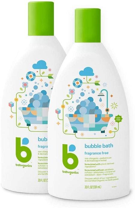 Babyganics Fragrance Free Bubble Bath