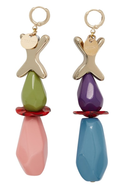 Multicolor Playful Earrings