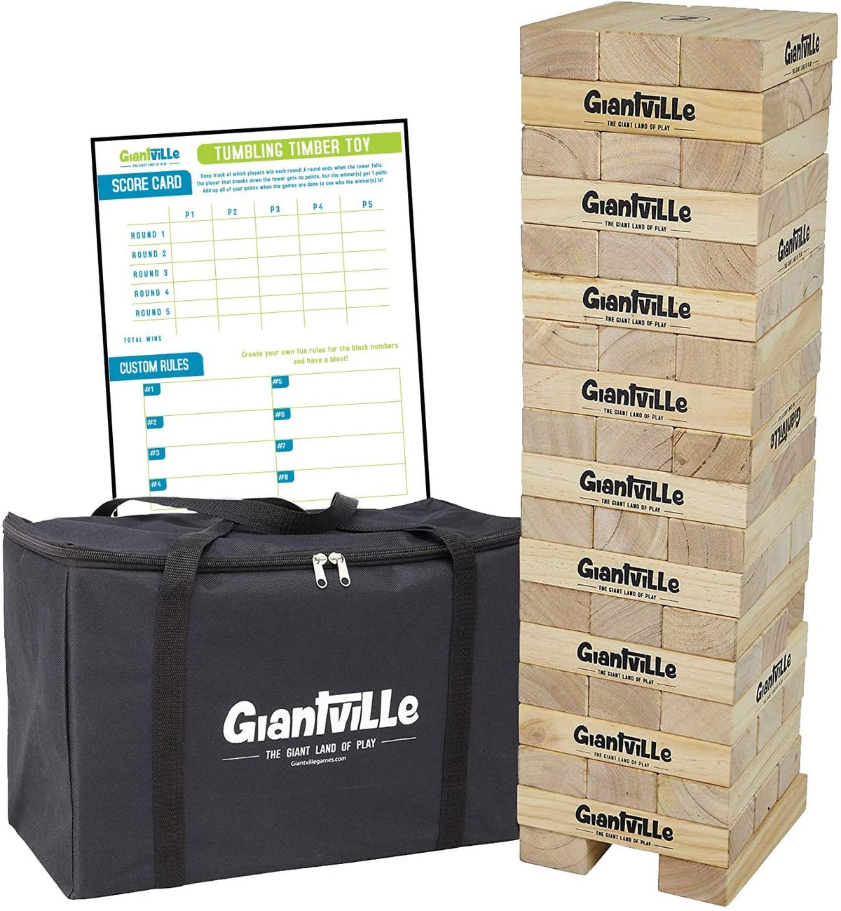Giantville Giant Tumbling Timber Toy