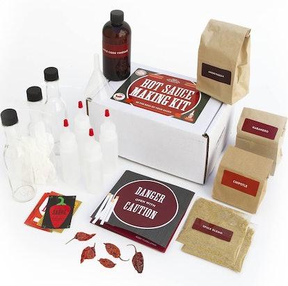 DIY Gift Kits Hot Sauce Making Kit