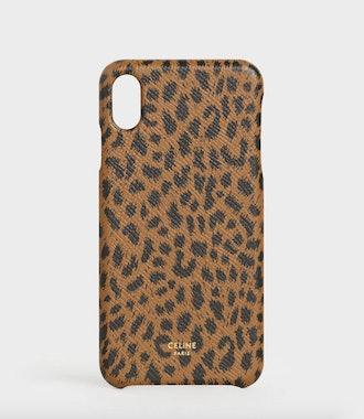 iPhone Case In Leopard Print