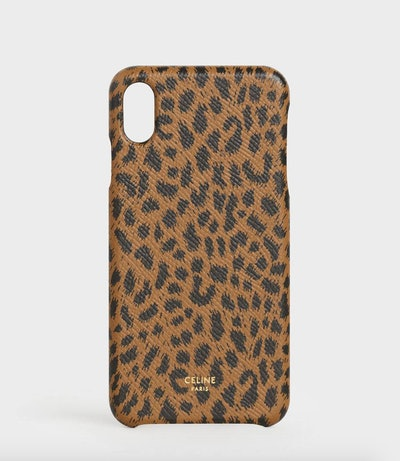 iPhone Case In Leopard Print