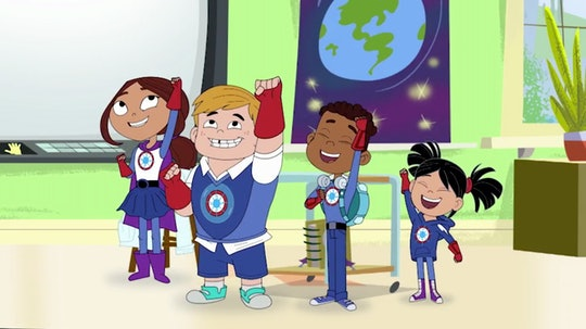 PBS Kids' new series 'Hero Elementary' aims to use superheroes to spark an interest in STEM among young viewers.