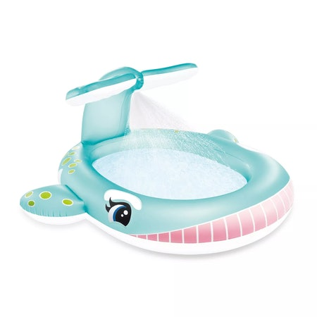 Intex Inflatable Whale Spraying Pool