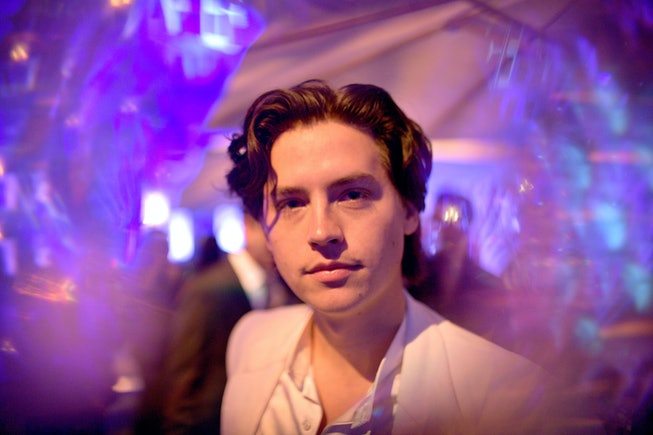 Cole Sprouse attends the 2020 Vanity Fair Oscar Party hosted by Radhika Jones at Wallis Annenberg Center for the Performing Arts on February 09, 2020 in Beverly Hills, California.
