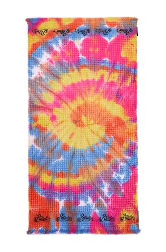 Tie Dye Waffle Towel
