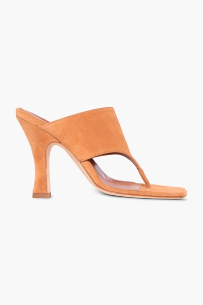 Norrgatan Paris Texas Mule in Suede