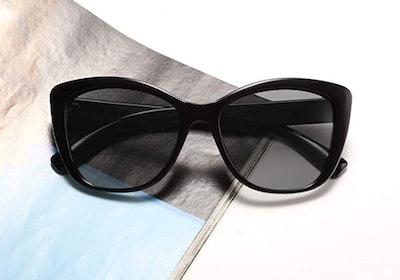 FEISEDY Polarized Vintage Sunglasses