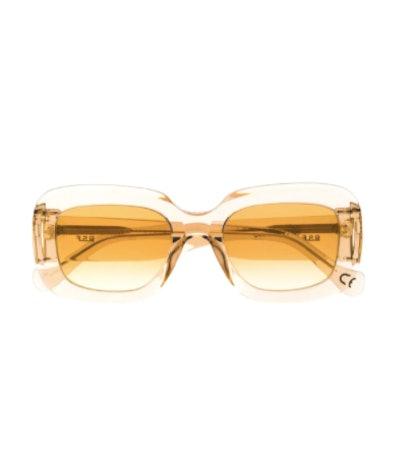 Transparent Oversized Sunglasses