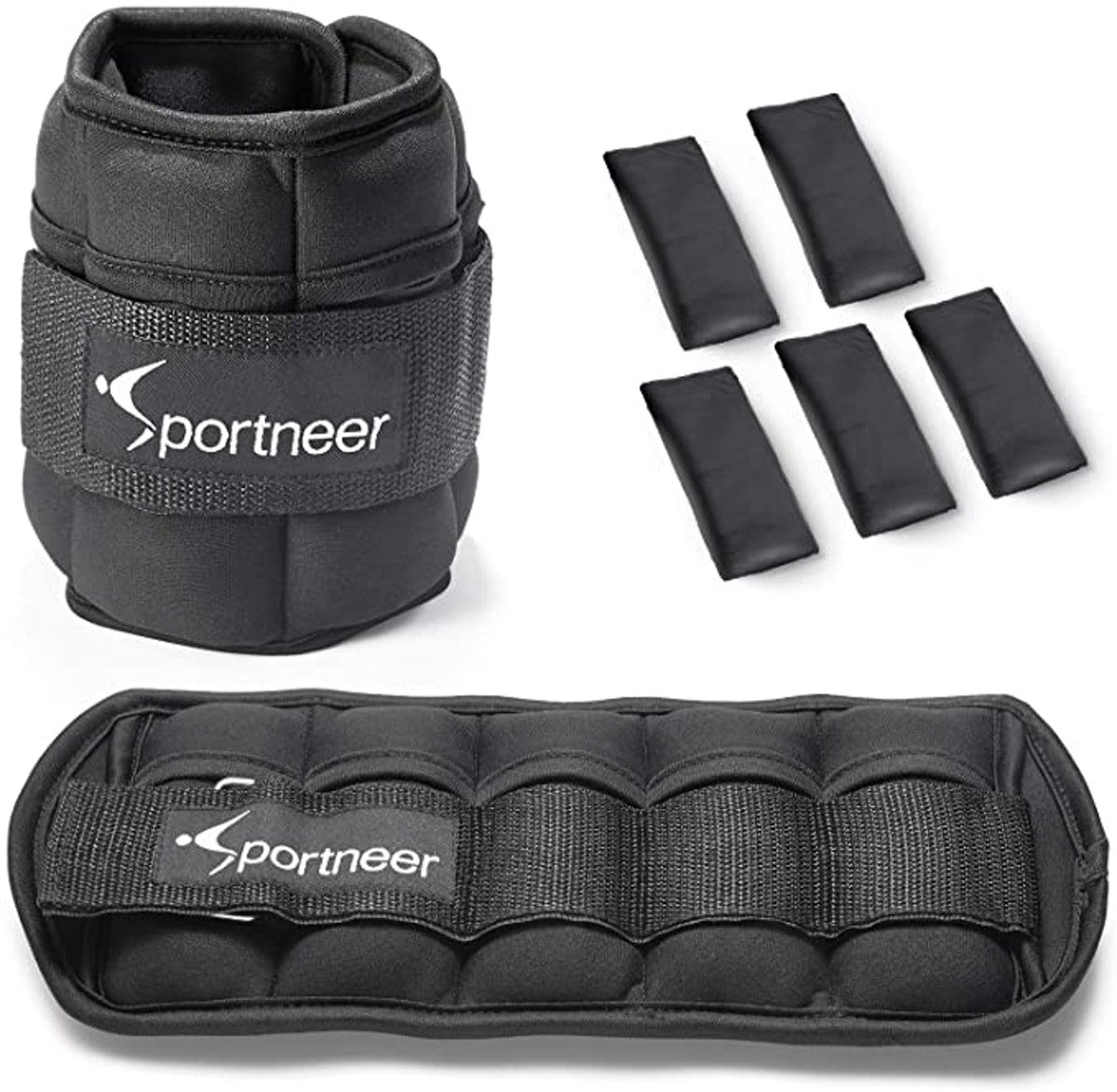 Sportneer Adjustable Ankle Weights