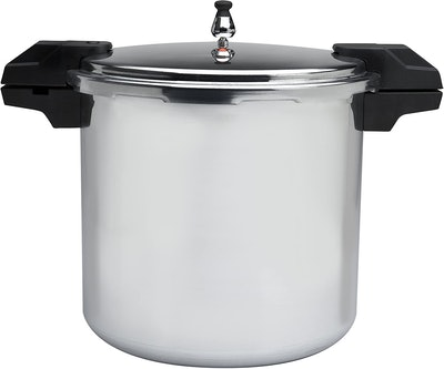 Mirro Polished Aluminum Pressure Cooker/Canner Cookware (22 Quarts)