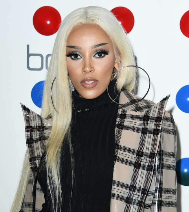 Doja Cat attends Influencer Management Company Influences' Hosts Launch Party For Girls In The Valley at The Sugar Factory on March 12, 2020 in Century City, California.