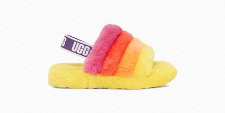 """Rainbow Fluff Yeah"" Sandals"