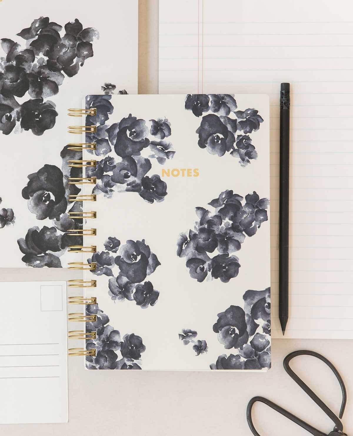 THE PAINTERLY FLORAL PURSE SIZE NOTEBOOK