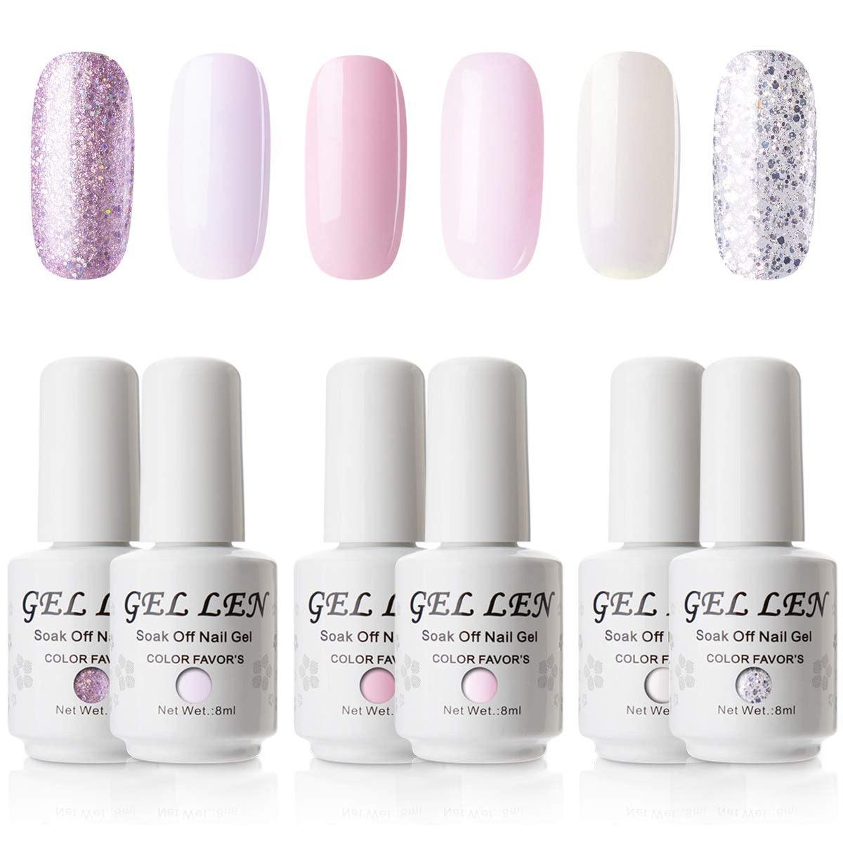 Gellen Gel Nail Polish Set (6-Pack)