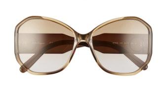 Gancio 61mm Butterfly Sunglasses