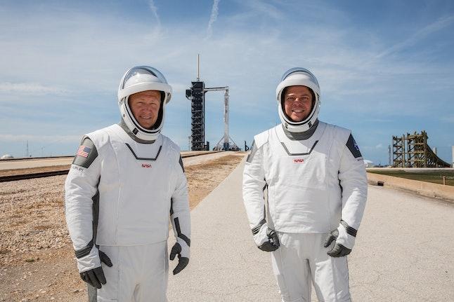NASA astronauts Douglas Hurley and Robert Behnken.