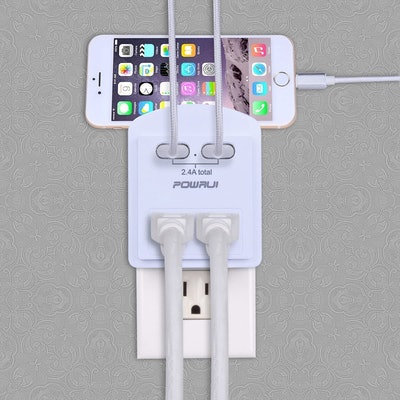 POWRUI Shelf USB Wall Charger