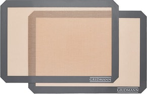 GRIDMANN Pro Silicone Baking Mat - Set of 2