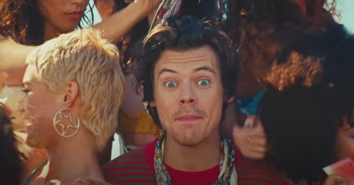 "Harry Styles ""Watermelon Sugar"" Music Video"