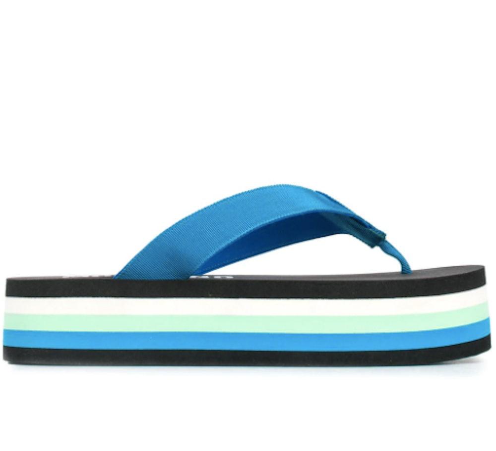 platform thong flip flops