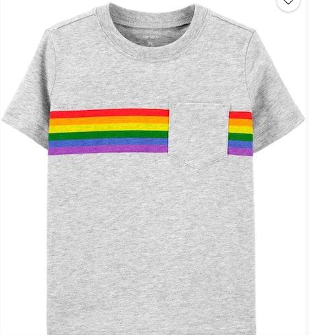 Rainbow Pocket Jersey Tee