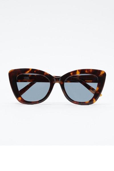 Zara Acetate Tortoiseshell Effect Glasses