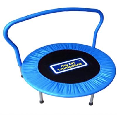 My First Trampoline 36-Inch Mini Trampoline, Blue
