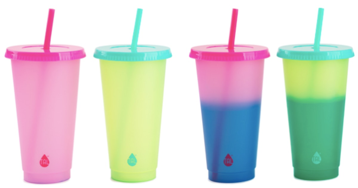 You Can Get These Cute Color-Changing Cold Cups At Walmart For Under $5