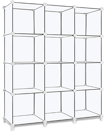 TomCare Cube Storage 12-Cube Bookshelf