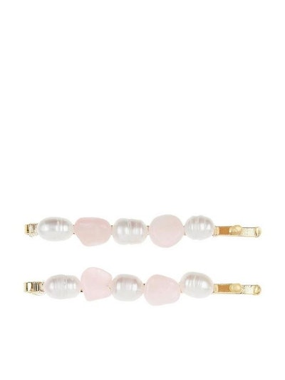 Accessorize 2-Pack Mixed Gem Freshwater Pearl Slides