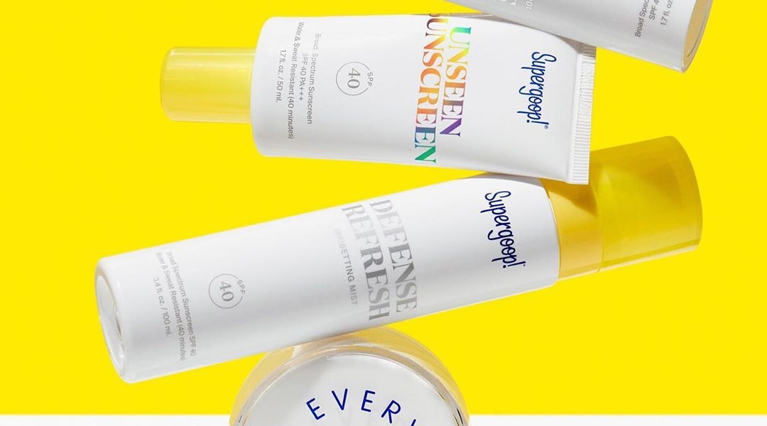 Supergoop!'s sunscreen sale includes a variety of fan favorites.