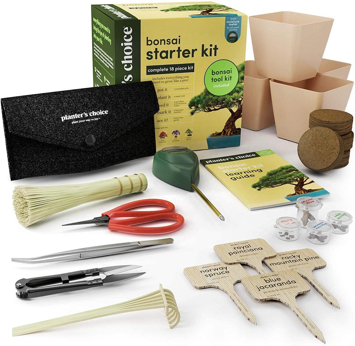 Planter's Choice Bonsai Starter Kit
