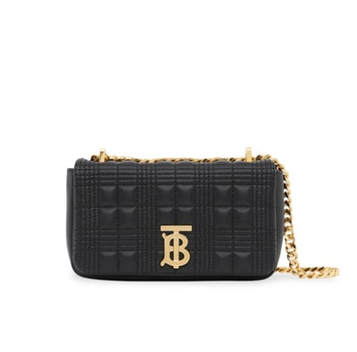 Mini Lola TB Quilted Leather Shoulder Bag