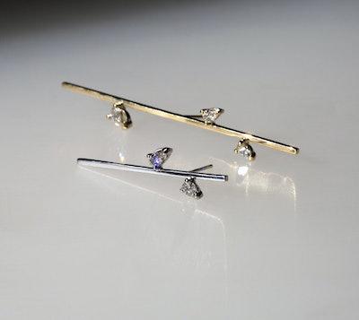 Linear Confetti Earring 50 MM