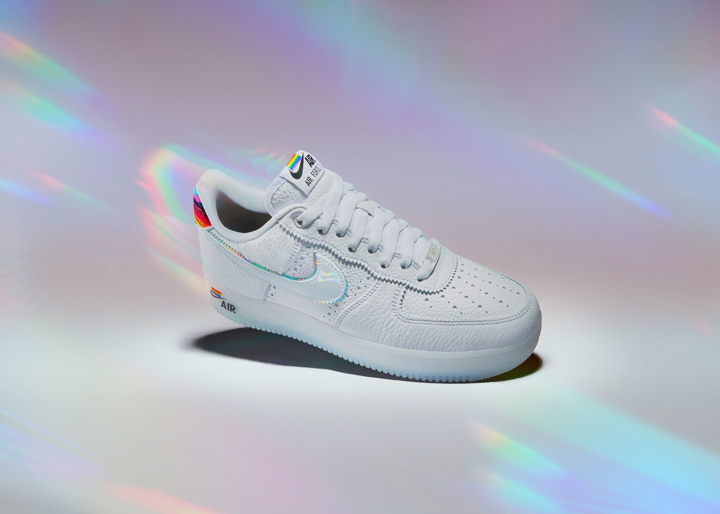 Nike's Pride-themed Air Force 1